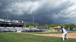 Storms roll in on the Thunder game